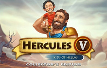 12 Labours of Hercules V: Kids of Hellas Collector's Edition Badge