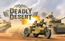1943 Deadly Desert Badge