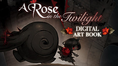 A Rose in the Twilight - Digital Art Book