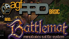 Axis Game Factory's AGFPRO + Battlemat (4 for 4 users)