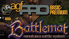 Axis Game Factory's AGFPRO + PREMIUM + BATTLEMAT