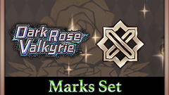 Dark Rose Valkyrie: Marks Set