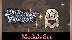 Dark Rose Valkyrie: Medals Set