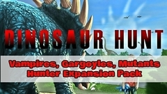 Dinosaur Hunt - Vampires, Gargoyles, Mutants Hunter Expansion Pack