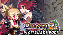 Disgaea 2 PC - Digital Art Book