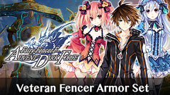 Fairy Fencer F ADF Veteran Fencer Armor Set