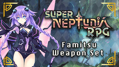 Super Neptunia RPG - Famitsu Weapon Set