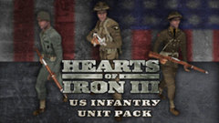Hearts of Iron III: US Infantry Sprite Pack