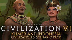 Sid Meier's Civilization® VI: Khmer and Indonesia Civilization & Scenario Pack