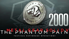 METAL GEAR SOLID V: THE PHANTOM PAIN - MB Coin 2000