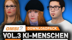 OMSI 2 Add-on Downloadpack Vol. 3 – KI-Menschen