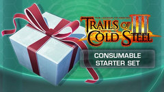 The Legend of Heroes: Trials of Cold Steel III - Consumable Starter Set
