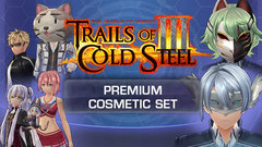 The Legend of Heroes: Trials of Cold Steel III - Premium Cosmetic Set