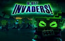 8-Bit Invaders! Badge
