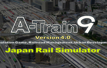 A-Train 9 v4.0: Japan Rail Simulator Badge