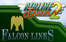 Airline Tycoon 2: Falcon Airlines DLC Badge