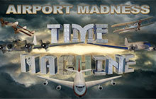 Airport Madness: Time Machine Badge