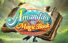 Amanda's Magic Book Badge