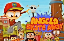 Angelo Skate Away Badge