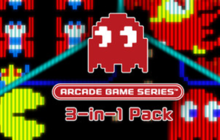 ARCADE GAME SERIES 3-in-1 Pack Badge
