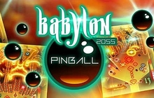 Babylon 2055 Pinball Badge