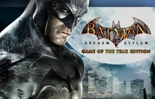 Batman: Arkham Asylum Game of the Year Edition Badge
