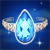 Blue Tear Icon