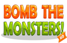 Bomb The Monsters Badge