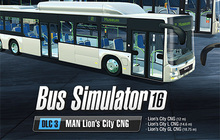 Bus Simulator 16: MAN Lion´s City CNG Pack Badge