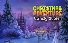 Christmas Adventure: Candy Storm Badge