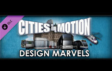 Cities in Motion: Design Marvels DLC Badge