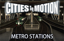 Cities In Motion: Metro Stations DLC Badge
