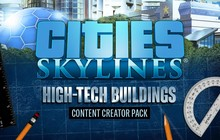 Cities: Skylines - Content Creator Pack: High-Tech Buildings Badge