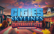 Cities: Skylines - Content Creator Pack: University City Badge