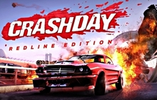 Crashday Redline Edition Badge