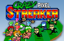 Crazy Pixel Streaker Badge