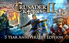 Crusader Kings II: 5 Year Anniversary Badge