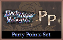 Dark Rose Valkyrie: Party Points Set Badge