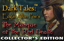 Dark Tales: Edgar Allan Poe's The Masque of the Red Death Collector's Edition Badge