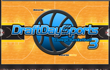 Draft Day Sports College Basketball 3 Badge