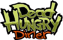 Dead Hungry Diner Badge