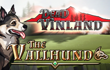Dead In Vinland - The Vallhund Badge