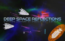 Deep Space Reflections Badge