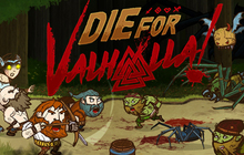 Die for Valhalla! Badge