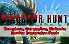 Dinosaur Hunt - Vampires, Gargoyles, Mutants Hunter Expansion Pack Badge