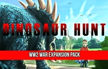 Dinosaur Hunt - WW2 War Expansion Pack Badge