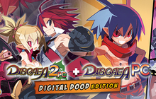 Disgaea 1 PC + Disgaea 2 PC Digital Doods Edition (Games + Art Books) Badge