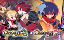 Disgaea 1 PC + Disgaea 2 PC (Games only) Badge