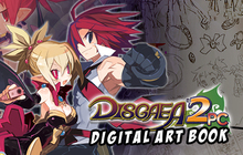 Disgaea 2 PC - Digital Art Book Badge