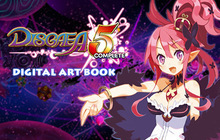 Disgaea 5 Complete - Digital Art Book Badge